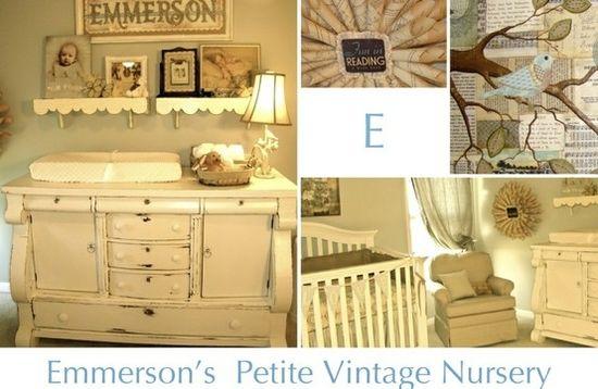 Vintage nursery by Ilse