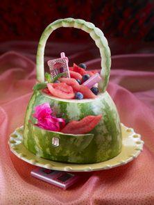 Watermelon Purse.