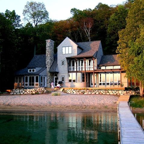 Lake Home Design Ideas