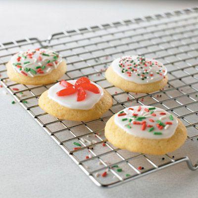 Soft Almond Cookies (made w/ ricotta)