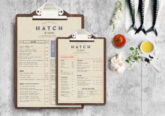 Hatch & Sons by Trevor Finnegan, via Behance