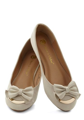 sweet bow flats. i'm in love!