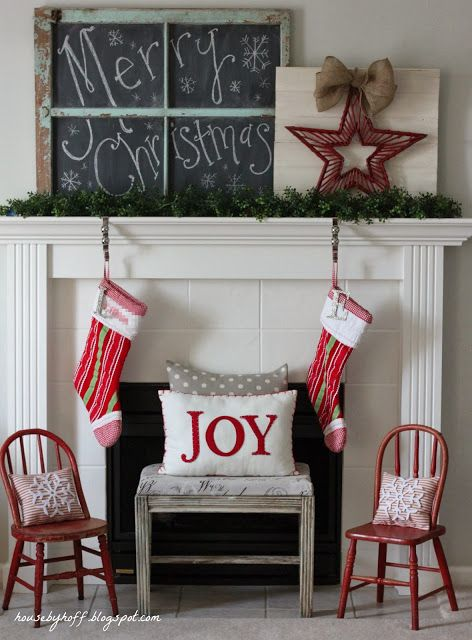 Christmas Decor via House by Hoff