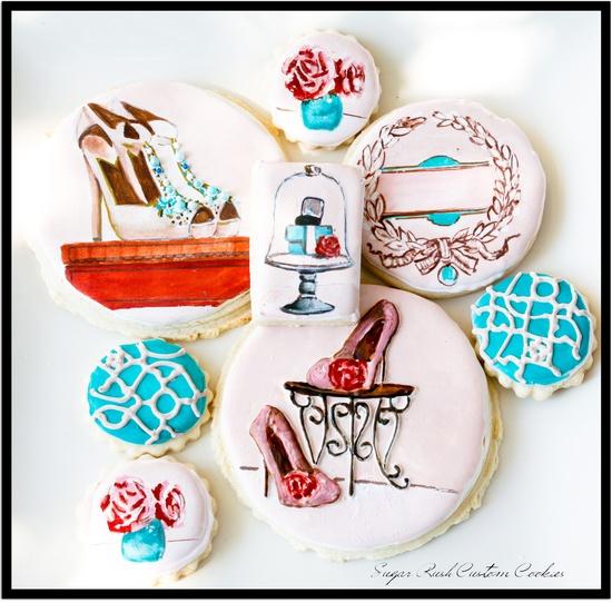 Fashion Shoe Boutique Cookies