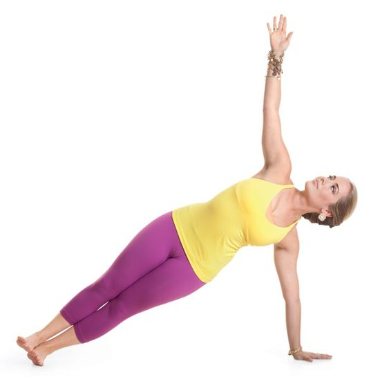 Yoga benefits the mind and body. (Exhibit A: AWESOME arms.) Try these 5 moves to sculpt your upper body pronto: www.womenshealthm...