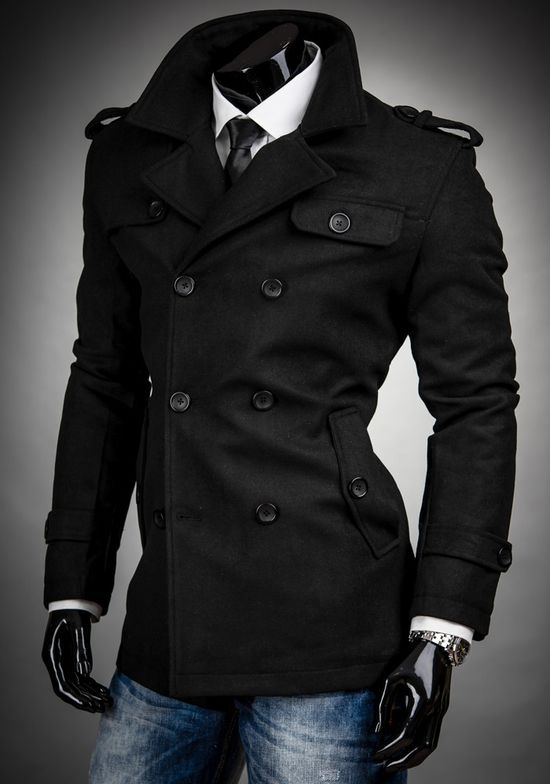 awkward pose... But I need a fitted pea coat like this!!! Hella bad!!! #gimmee