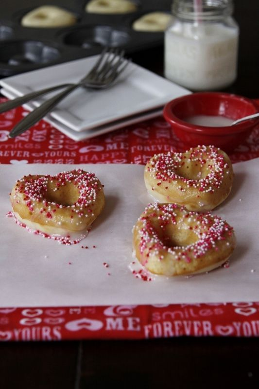 baked donuts - for my new donut pan!