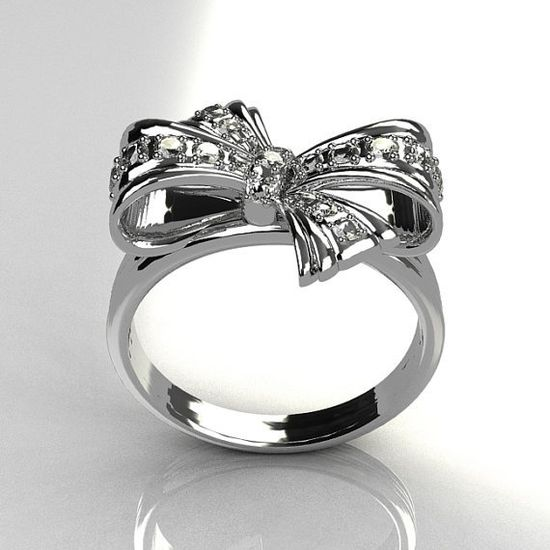 Tiffany Bow Ring! Great valentines day present! ? #bow