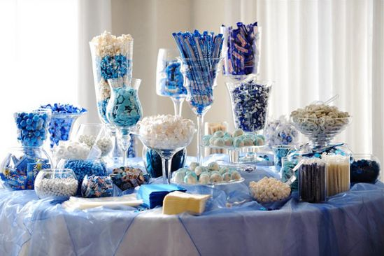 The candy table