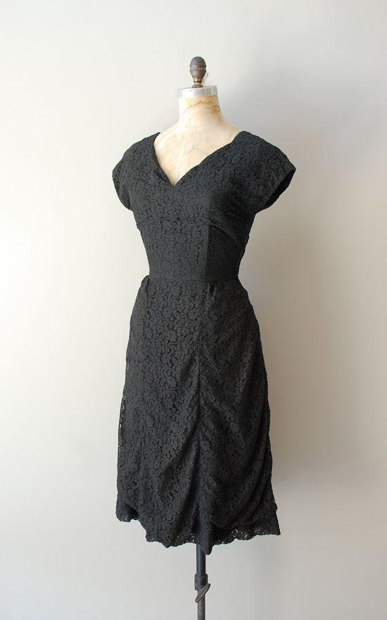 vintage 1950s Elendrine dress       www.etsy.com/...