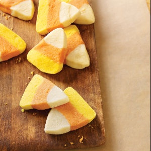 Candy Corn Shortbread
