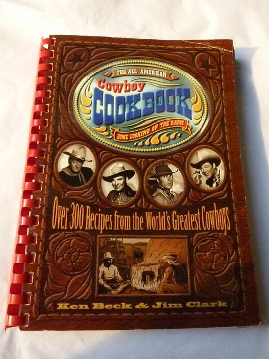 Vintage Cookbook  Cowboy Cookbook   Vintage by pinkneonvintage, $15.00