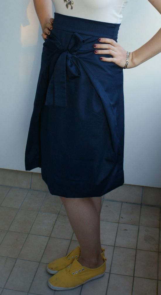 rectangle skirt tutorial