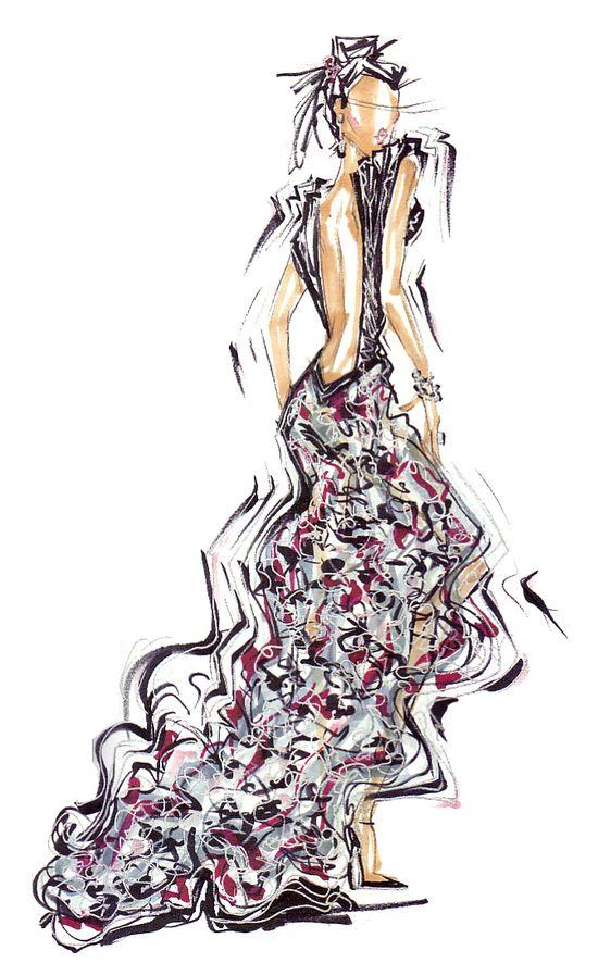 Fashion Illustration By Renie