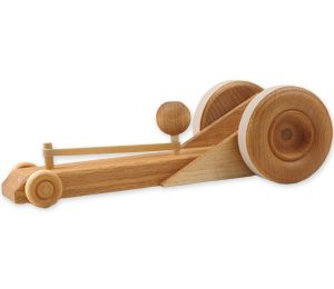 Wood Toy Shop Rubber Band Racer, $22. Find this and more Gift Guides at SmallforBig.com #Kids #toys #gifts #christmas