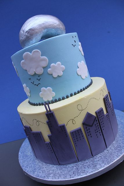 - Chicago Cake by Alliance Bakery, via Flickr