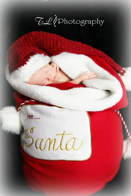 Christmas in July sale Photography Prop Newborn Christmas Hat You Pick The Color Newborn To Tweleve Month on Etsy, $18.00