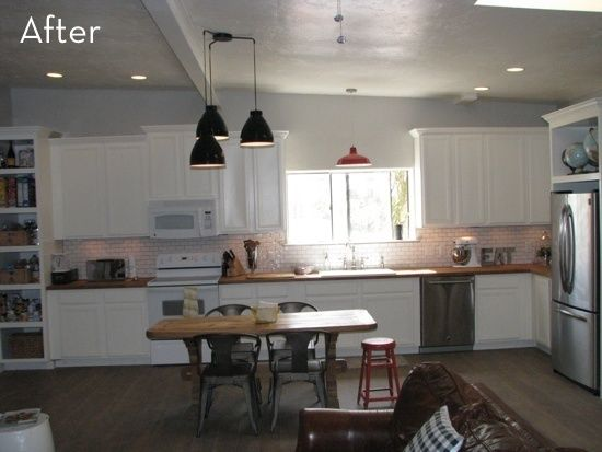 Before and After: A Lackluster Kitchen gets a Massive Overhaul on a Budget