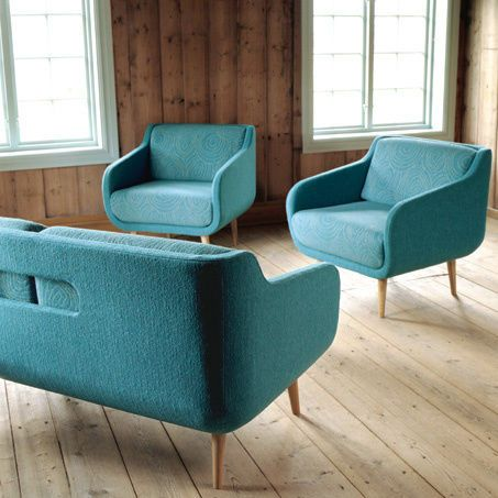 BG Norge blue chairs & couch by ooh_food, via Flickr