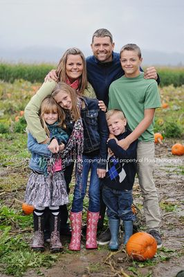 Pumpkin Patch family photos