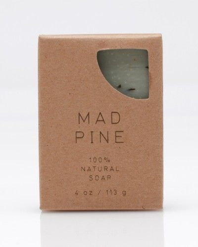 Mad Pine Soap. Simple