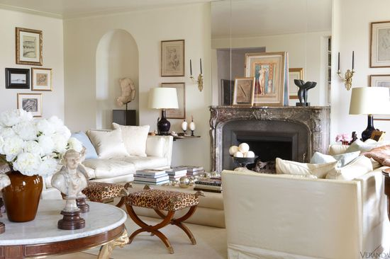 Upper East Side apartment designed by Adrienne Vittadini.
