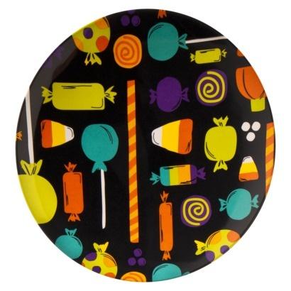 Halloween Candy Dinner Plate #halloween #target