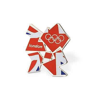 London 2012 Olympics Badge