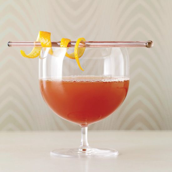 Apple-Gin Cocktail
