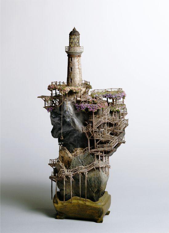 Miniature Architecture Of Takanori Aiba. WHUTWOW
