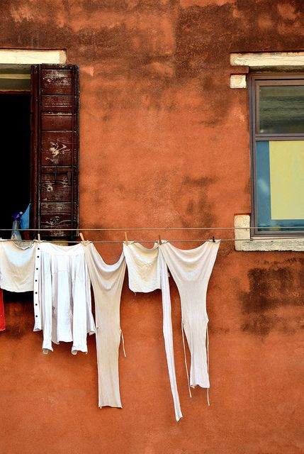 clothes line, staple in a missionary life