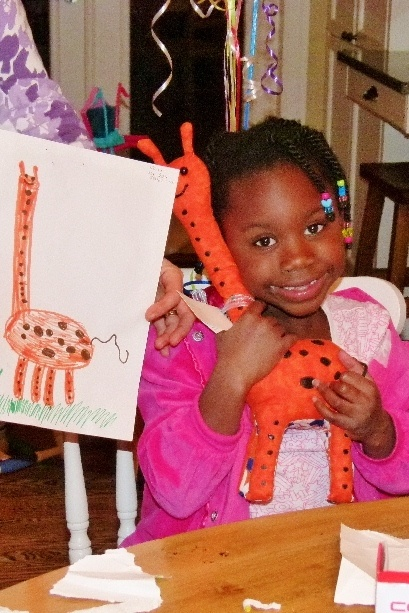 This company will make a plush figure from your child's artwork - which is simply amazing!