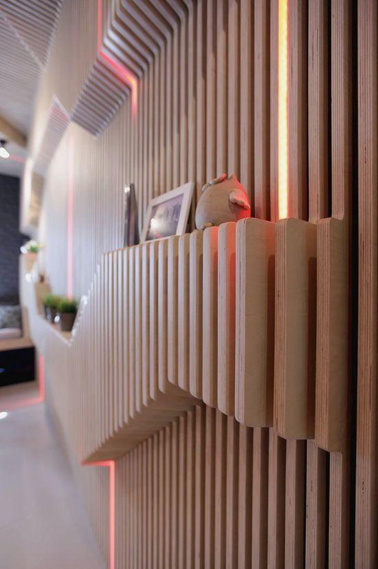 Modern Kitchen Design Featuring a Stylish Bar and a Comfy Longue   Parametrix