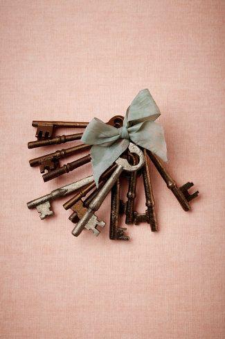 Vintage key details
