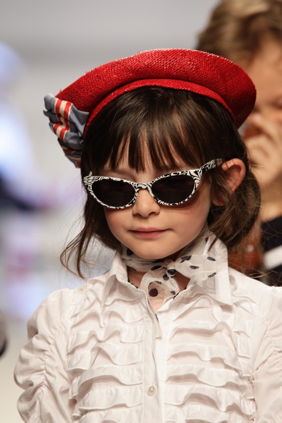 Sarabanda children's fashion for summer 2011 at Pitti Bimbo 71