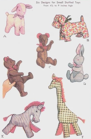 another stuffed animal pattern