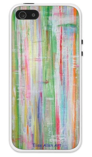 Elise Allen Art iphone Cases - Spring Fling