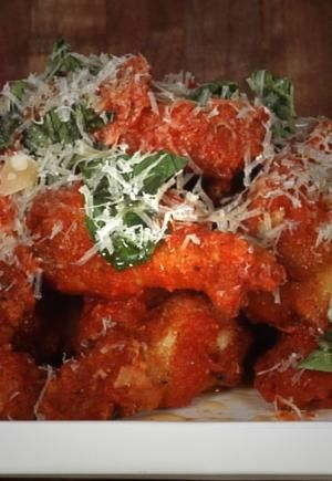 Recipe: Savory Chicken Parmesan Wings