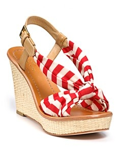 red and white wedges!
