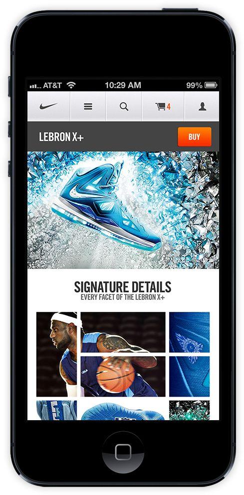 Nike.com Mobile
