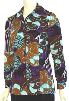 Psychedelic 70s Blouse