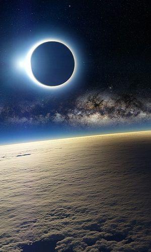 Milky Way & Eclipse