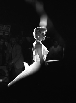 Marilyn Monroe during the filming of The Seven Year Itch, 1954.