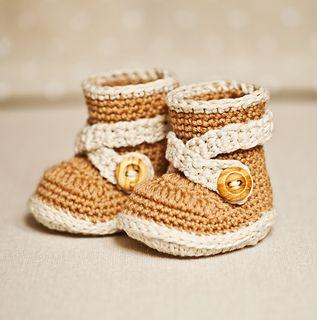 cute baby booties, pattern $4