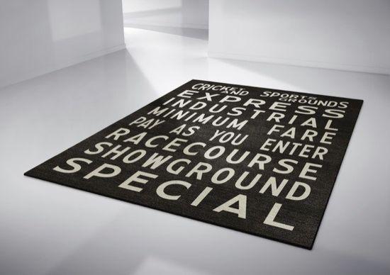 Sydney - Bold, Original & Creative Handmade Designer Rugs by Linus Dean