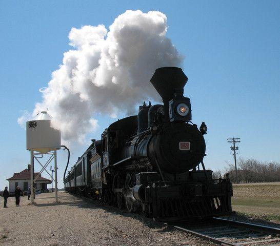 Vintage Stream Train