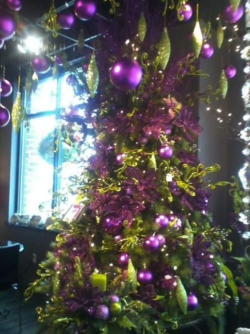 Purple Christmas / Purple Rain Christmas Tree