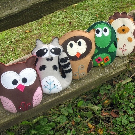 Woodland Forest Stuffed Animal Patterns