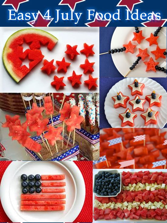 Easy 4th of July Food Ideas