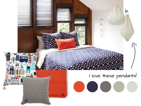 citta design bedroom littleNudge mood board